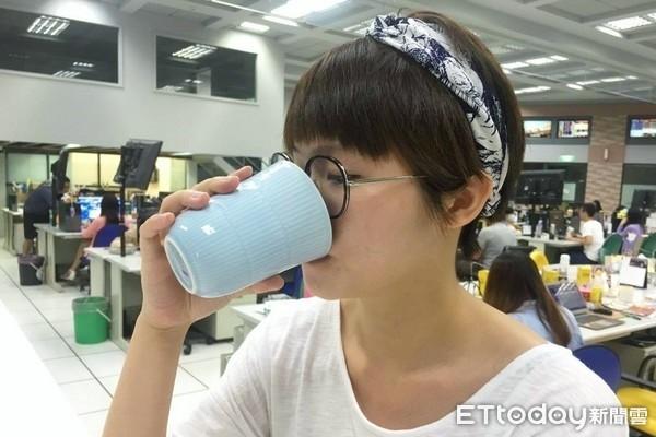 喝水,水。(示意圖/記者李佳蓉攝)