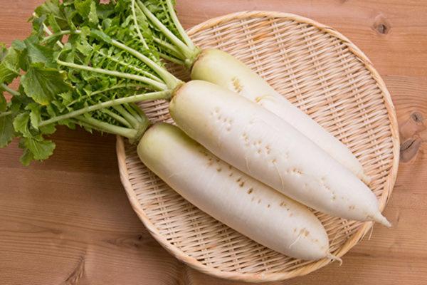 標題: 白蘿蔔功效賽人參,生吃熟吃各有益處。